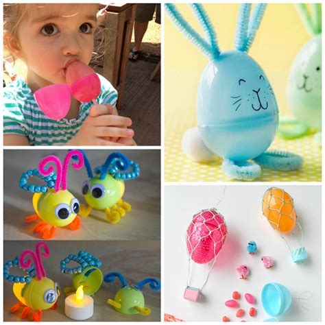 Easter Eggs Ideas by Creative Things To Make Out Of Plastic Easter Eggs