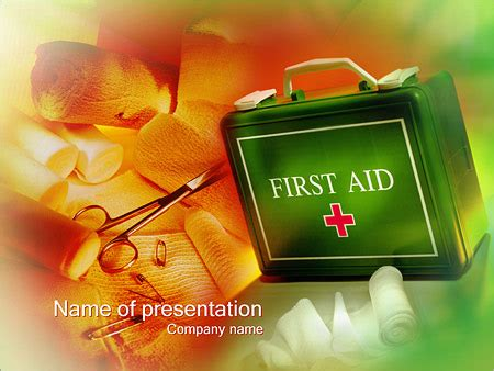 First Aid Powerpoint Template Bellacoola Co Aid Powerpoint Template