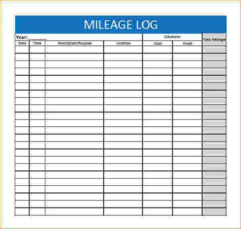 mileage tracking template mileage log template pdf jpg