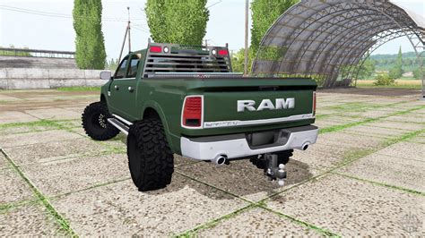DODGE RAM 1500 CREW CAB V1.0 CARS for FS 17   Farming