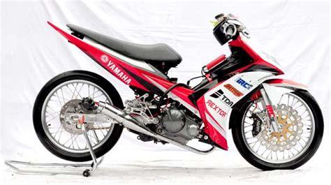 Jupiter Z Pake Projie modifikasi jupiter mx racing look keren euy