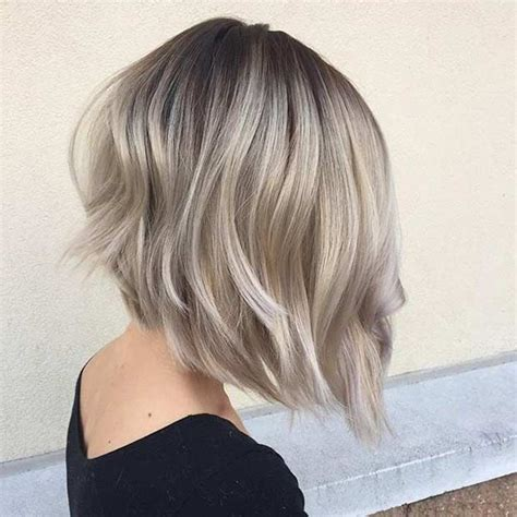 short hairstyle blonde in front black in back best 25 angled lob ideas on pinterest