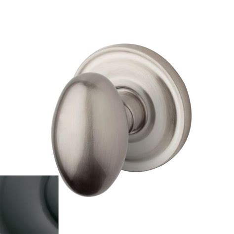 Baldwin Interior Door Knobs Shop Baldwin Estate Egg Oil Rubbed Bronze Egg Push Button