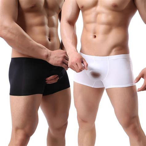 boy it s a hot one sexy mens underwear open penis sheath cover up pouch