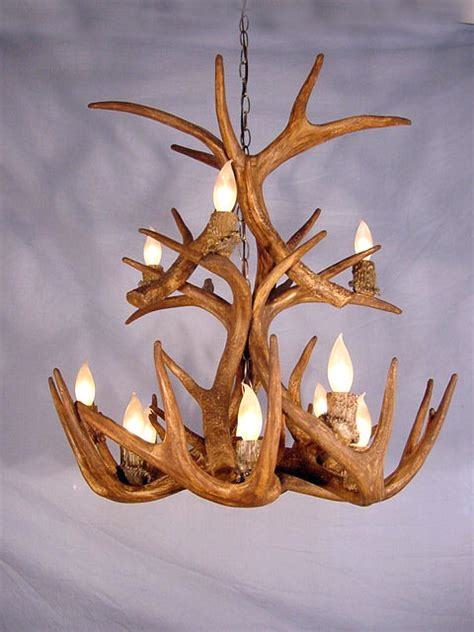 How To Make A Deer Horn Chandelier How To Make Antler Chandeliers Chandelier