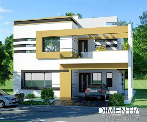 home design for 7 marla contemporary residence by muhammad majid associates 10