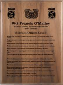 army creed plaques