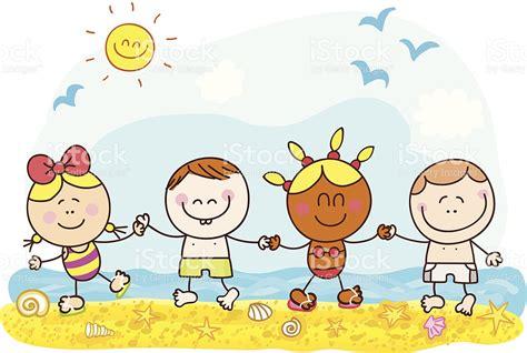 vacaciones imagenes movibles vacaciones de verano ilustraci 243 n de dibujos animados