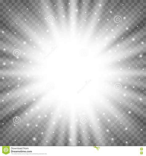 bright white white glowing light burst explosion on transparent