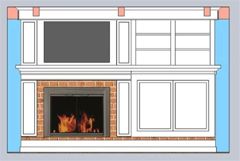 Ideas For Fireplace Facade Design Building A Fireplace Facade The Design Home Decor Ideas Pinterest Facades Facade Design