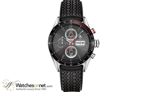 Tag Heuer Formula 1 Calibre 16 White Silver Brown Leather For tag heuer automatic chronograph calibre 16 steel