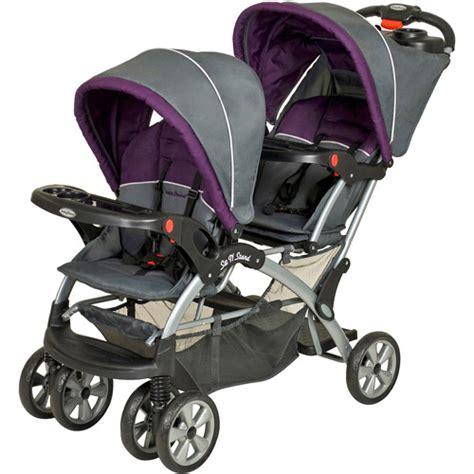 strollers walmart baby trend sit n stand stroller walmart