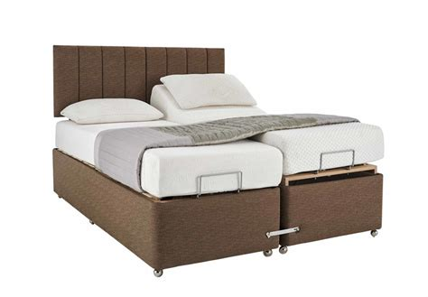King Size Bed 2 Mattresses by Modern Adjustable Platform Bed For Two Mattresses With