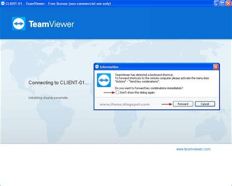 cara menjalankan anonyton desember 2017 cara setting it wae cara setting menggunakan teamviewer terbaru