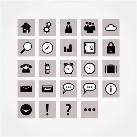 icon design basics basic vector icon pack modern design icons for website or
