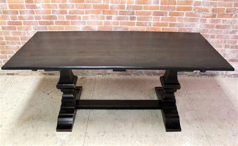 black wash venetian farm table rustic dining tables