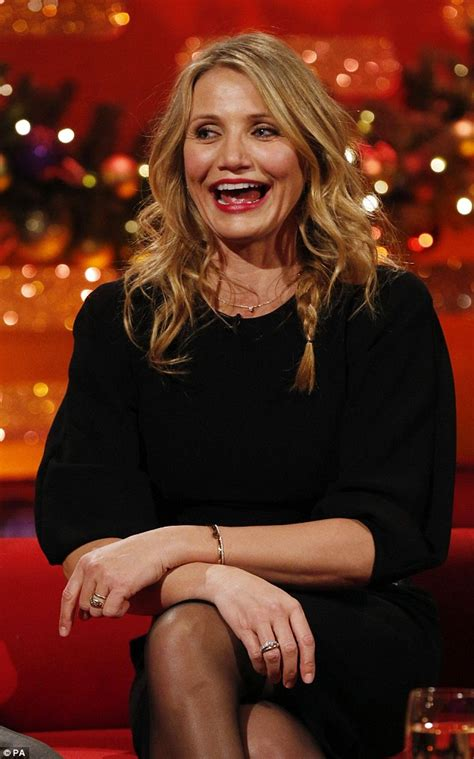 'I  how bad a singer I am': Cameron Diaz admits needing a few more years to prepare for the