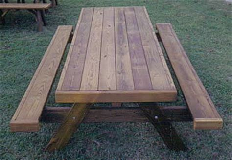 heavy duty picnic table plans heavy duty picnic tables made by quality patio furniture