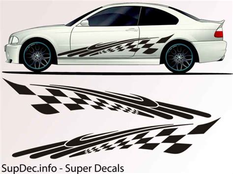 Auto Body Decals by Vinyl Auto Body Graphics Exterior Outside Decal Sticker B788