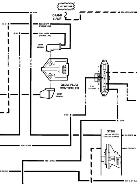 motor wiring glow1 wiring diagram of a diesel engine