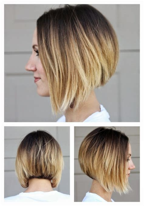 asymmetrical ombre bob hair update one little momma