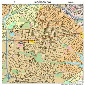 jefferson virginia map 5140584