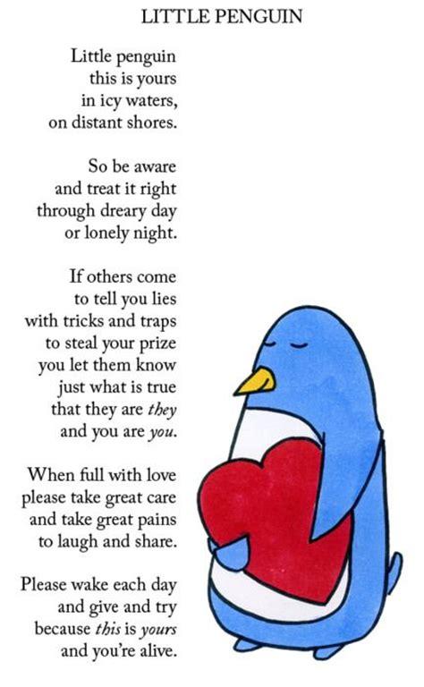 mini penguin syari posts and sweet on