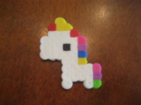 perler unicorn perler bead unicorn by perlerbead99 on deviantart