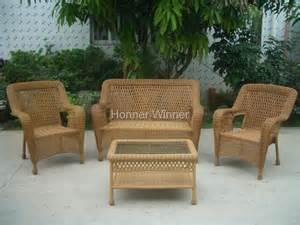 hw882 outdoor leisure rattan furniture set honor winner