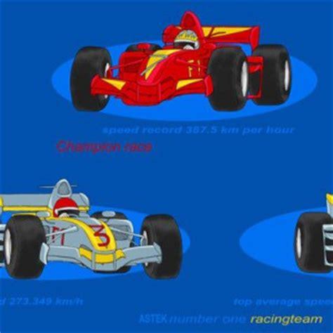 Panneaux Kinderzimmer Junge by Kinderzimmer Gardine Set Mit Rennauto Car Motiv In Blau