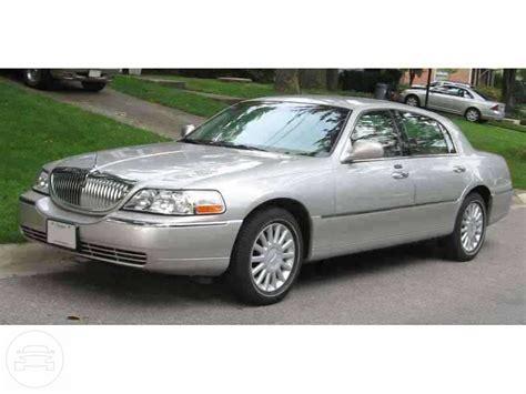 silver lincoln town car allen limousine inc
