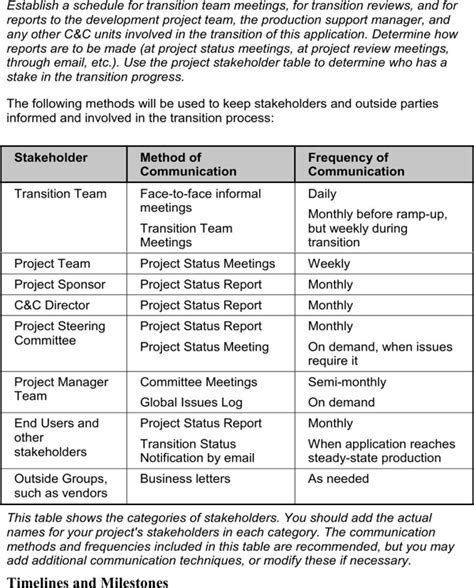 download job transition plan template for free page 6