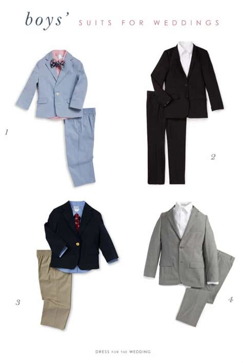 Wedding Attire Ring Bearers by Ring Bearer Suits And Boys Wedding Boys Wedding