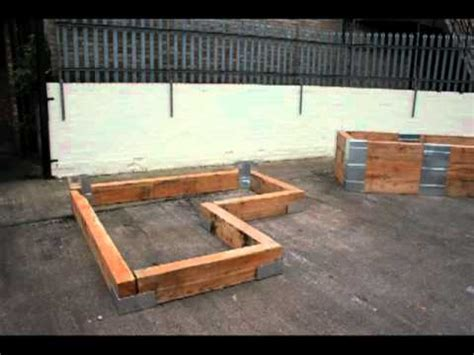 l shaped raised garden bed 4x16 raised garden bed building an 8ft by 8ft x 20 quot high l shaped bed youtube