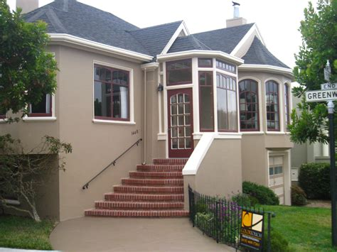 exterior painting project in san francisco by color touch painting