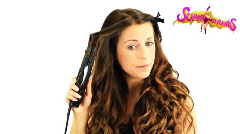 how to curl hair with straighteners flicks how to curl your hair with a straightener flat iron