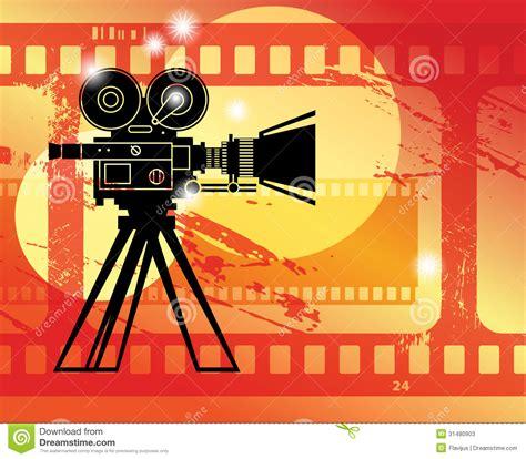 wallpaper camera cinema abstract cinema background stock vector image of