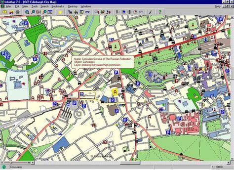 printable street map of edinburgh city centre edinburghcity map 第14页 点力图库
