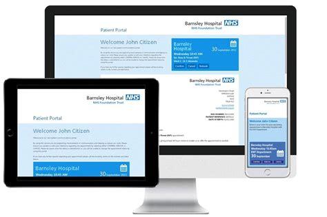 Patient Portal Welcome Letter patient portal digital appointment letters healthcare