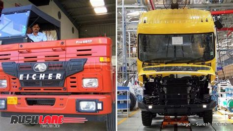 volvo eicher   india  roll  bs compliant cng engine  trucks buses
