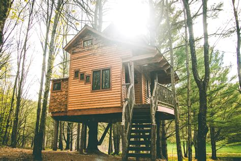 tree houses for rent three tree houses you can rent in new england boston magazine