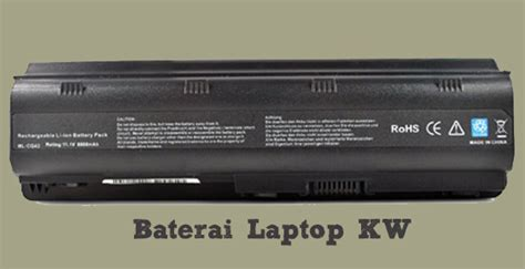 Baterai Laptop Hp Kw cara membedakan baterai laptop original oem dan kw