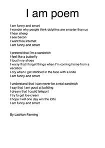 where i am from poem template fantastic four i am poems