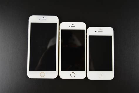 apple iphone 6 a visual look at apple s iphone 6 vs previous iphones