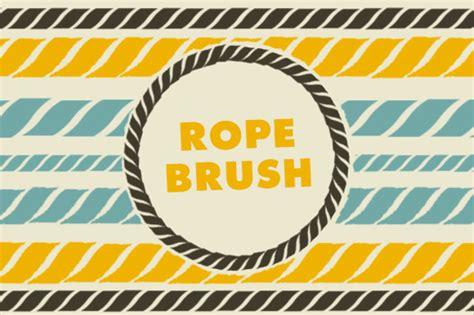 rope pattern brush illustrator free 21 rope brushes abr atn download