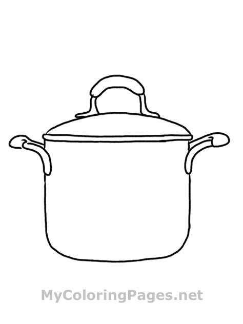 Kitchen Utensils Pictures To Color Free Coloring Pages Of Cooking Utensil