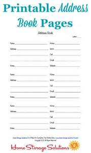 printable phone book template free printable address book pages get your contact