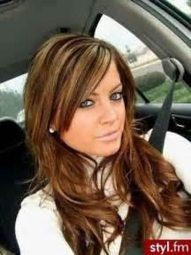 honey colored highlights colored hair with honey highlights hair