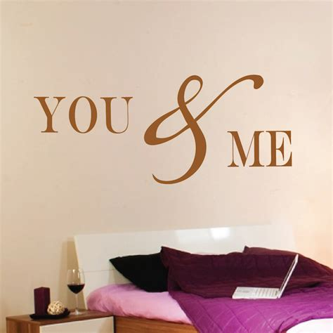 romantic wall stickers for bedrooms romantic bedroom wall decal vinyl mural sticker you