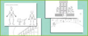 funny bones colouring sheets free early years amp primary